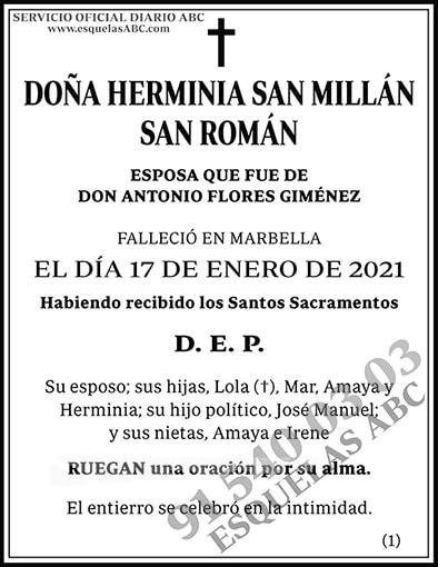 Herminia San Millán San Román