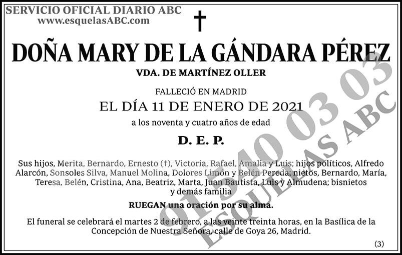 Mary de la Gándara Pérez