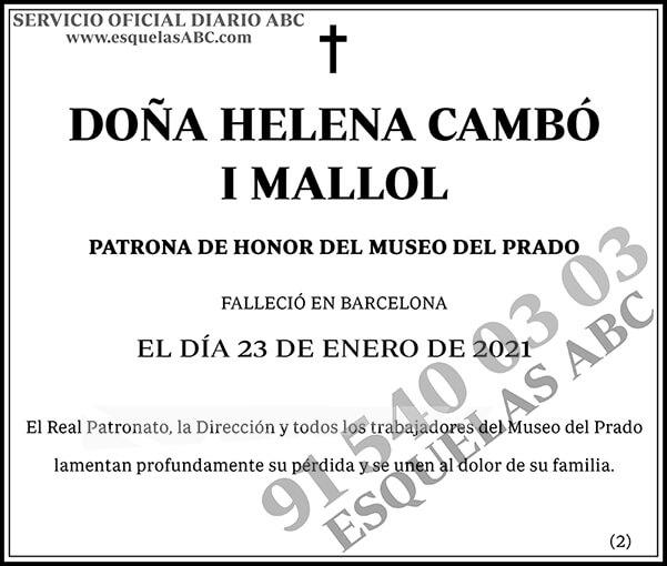 Helena Cambó I Mallol