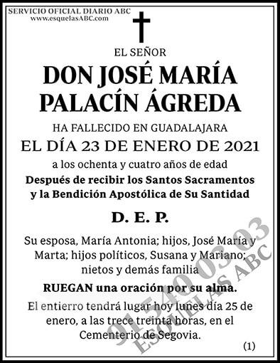 José María Palacín Ágreda
