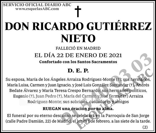 Ricardo Gutiérrez Nieto