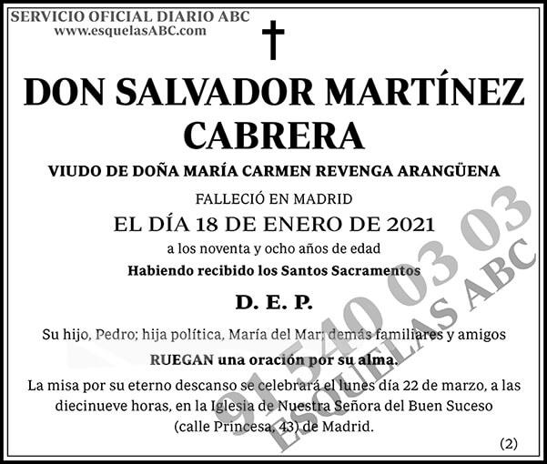 Salvador Martínez Cabrera
