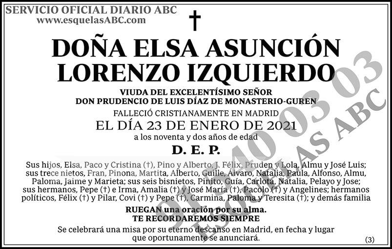 Elsa Asunción Lorenzo Izquierdo