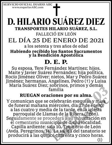 Hilario Suárez Diez