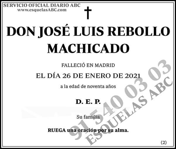 José Luis Rebollo Machicado