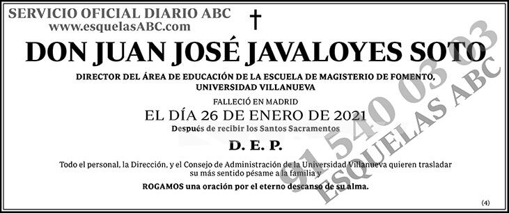 Juan José Javaloyes Soto