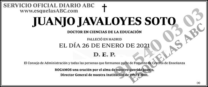 Juanjo Javaloyes Soto