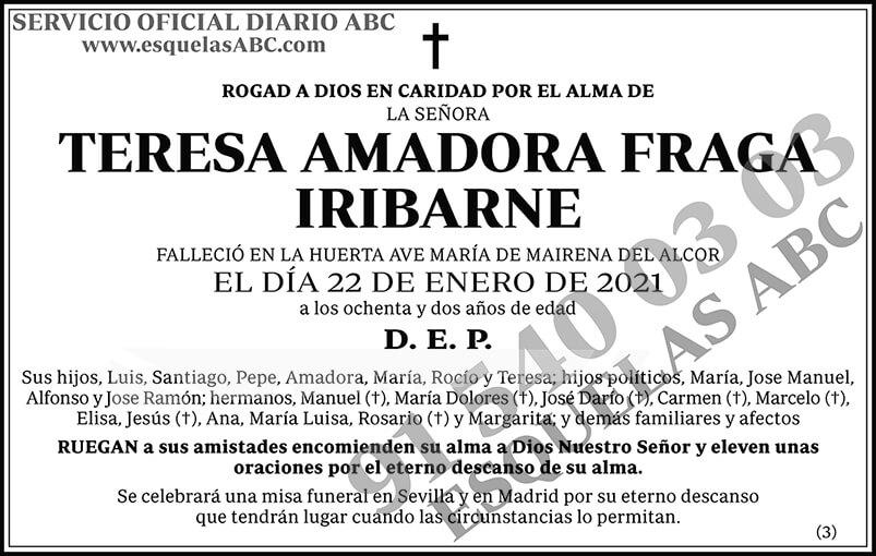 Teresa Amadora Fraga Iribarne
