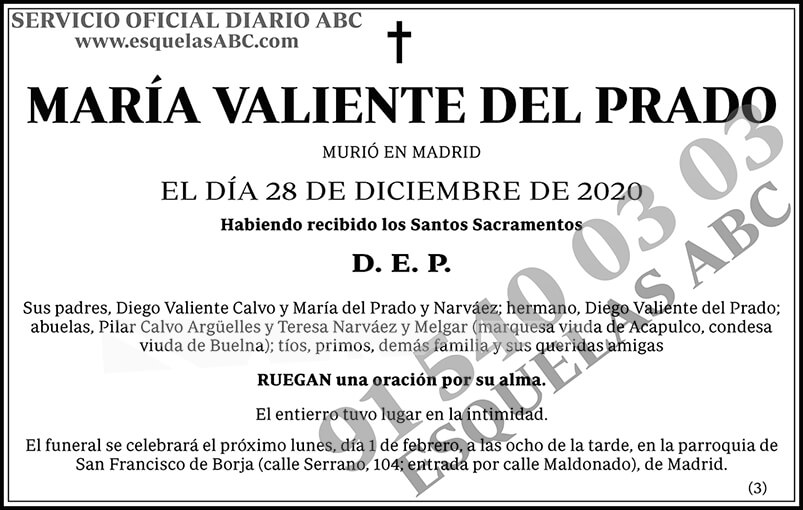 María Valiente del Prado