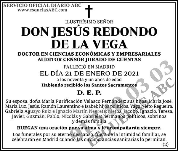 Jesús Redondo de la Vega