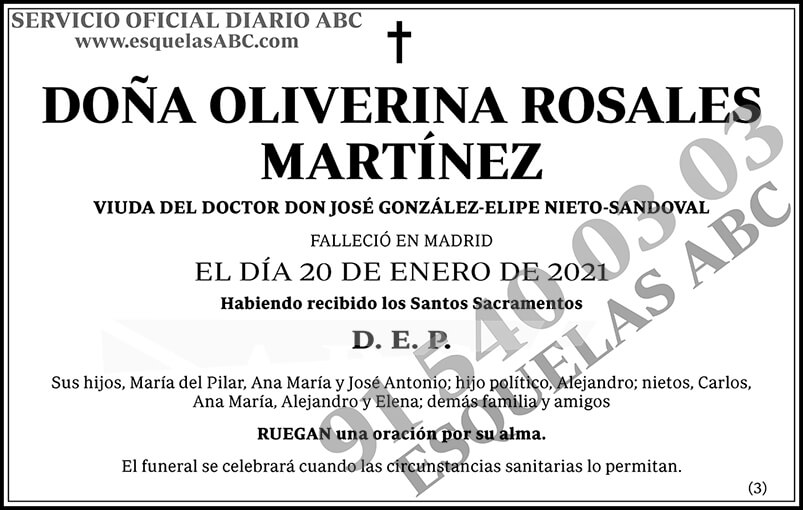 Oliverina Rosales Martínez