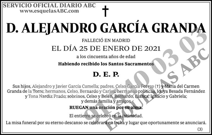 Alejandro García Granda