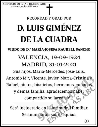 Luis Giménez de la Cuadra