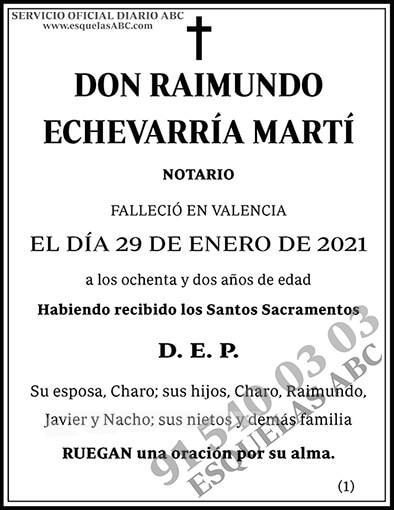 Raimundo Echevarría Martí