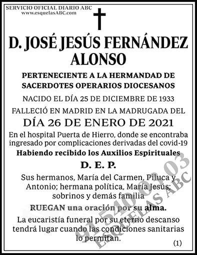 José Jesús Fernández Alonso