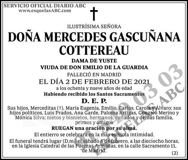 Mercedes Gascuñana Cottereau