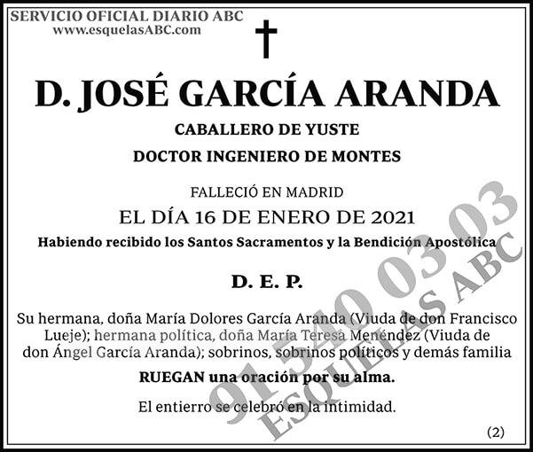 José García Aranda