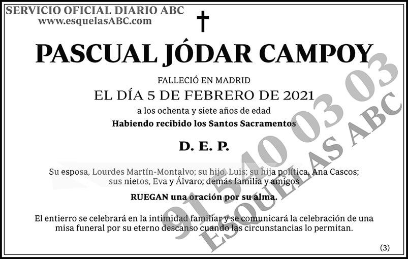 Pascual Jódar Campoy
