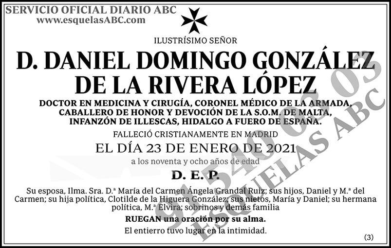 Daniel Domingo González de la Rivera López