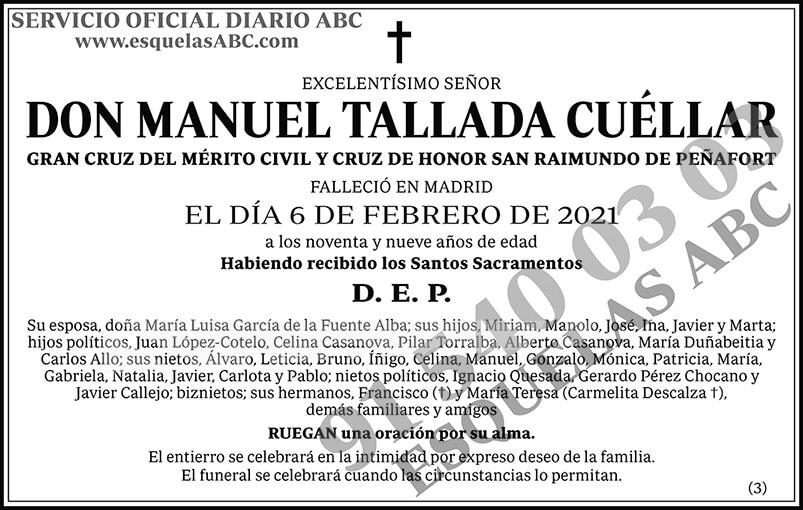 Manuel Tallada Cuéllar