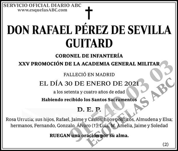 Rafael Pérez de Sevilla Guitard