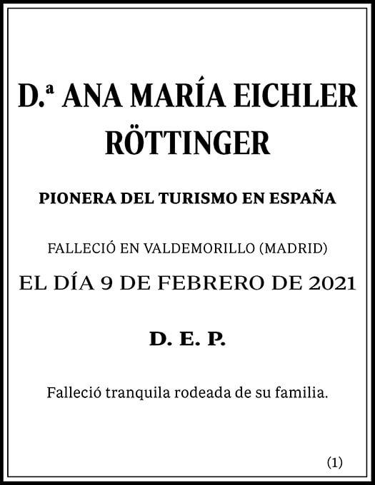 Ana María Eichler Röttinger