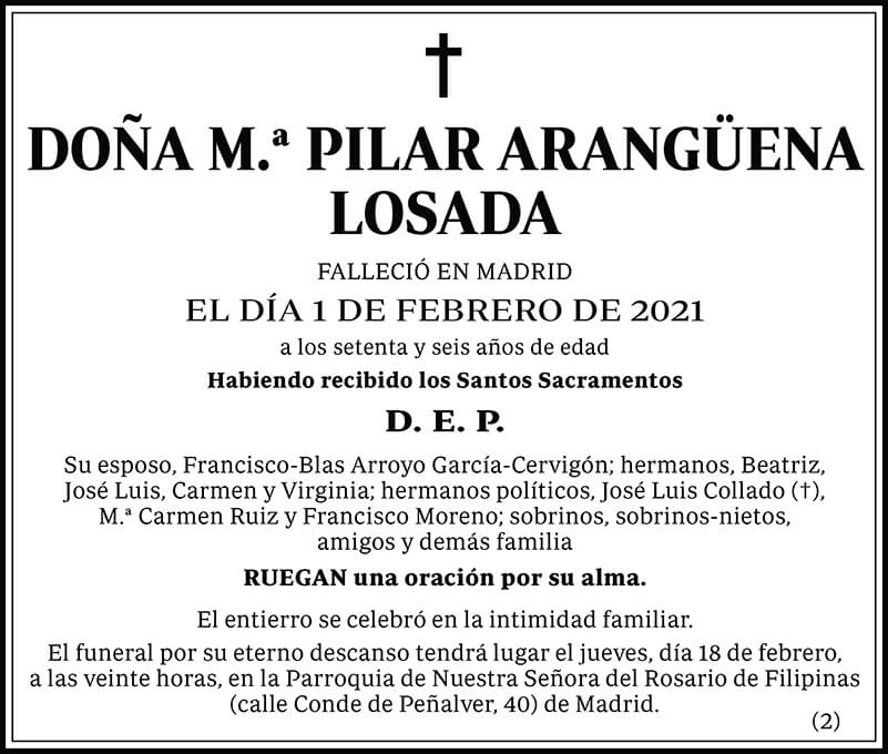 M.ª Pilar Arangüena Losada