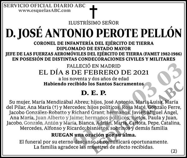 José Antonio Perote Pellón