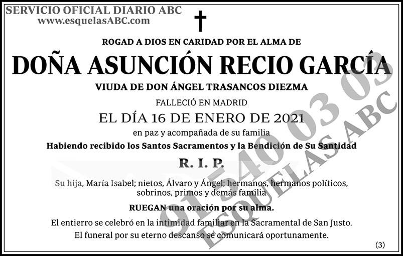 Asunción Recio García