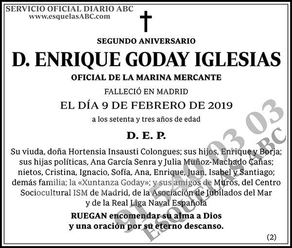 Enrique Goday Iglesias