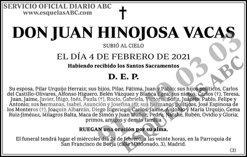 Juan Hinojosa Vacas