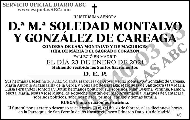 M.ª Soledad Montalvo y González de Careaga