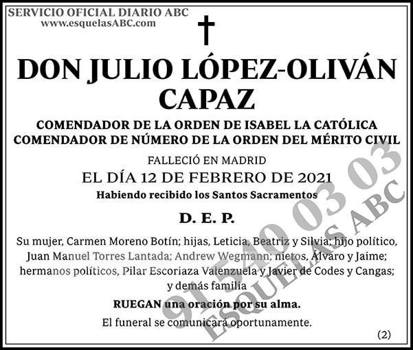 Julio López-Oliván Capaz