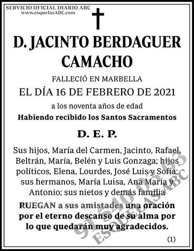Jacinto Berdaguer Camacho