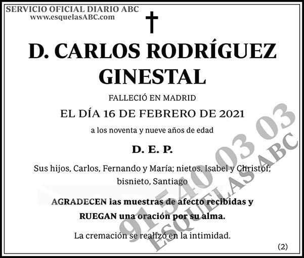 Carlos Rodríguez Ginestal