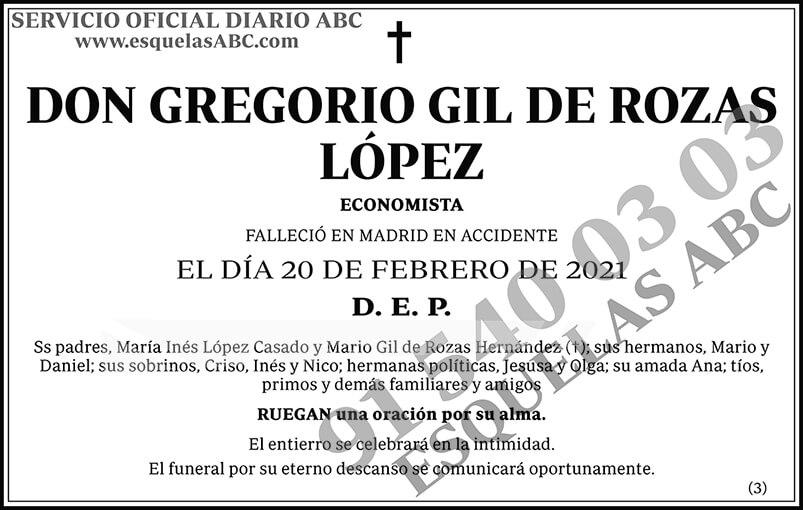 Gregorio Gil de Rozas López