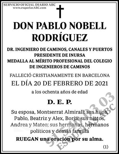 Pablo Nobell Rodríguez