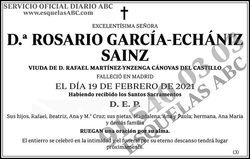 Rosario García-Echániz Sainz