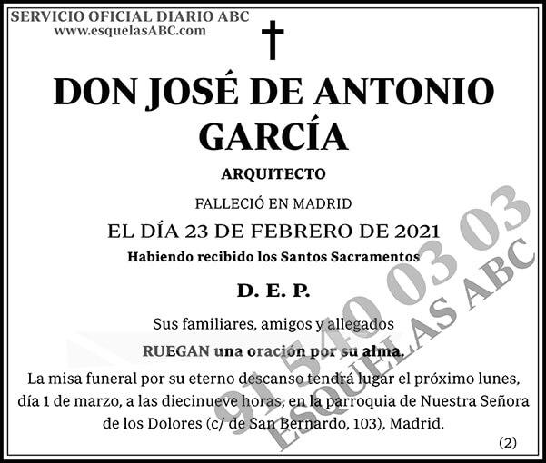 José de Antonio García