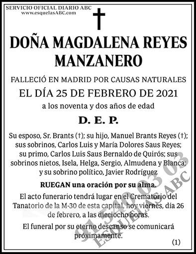 Magdalena Reyes Manzanero
