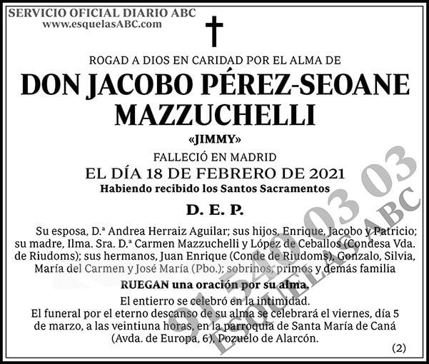 Jacobo Pérez-Seoane Mazzuchelli