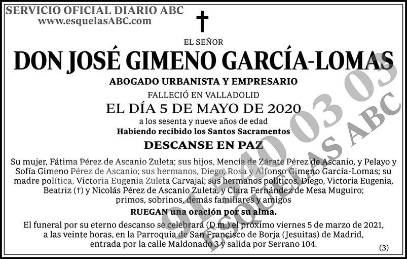 José Gimeno García-Lomas