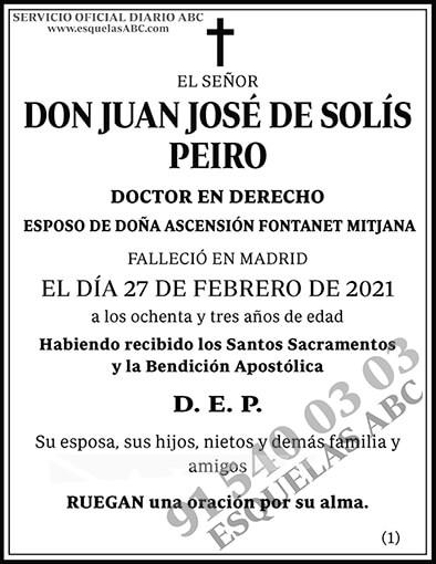 Juan José de Solís Peiro