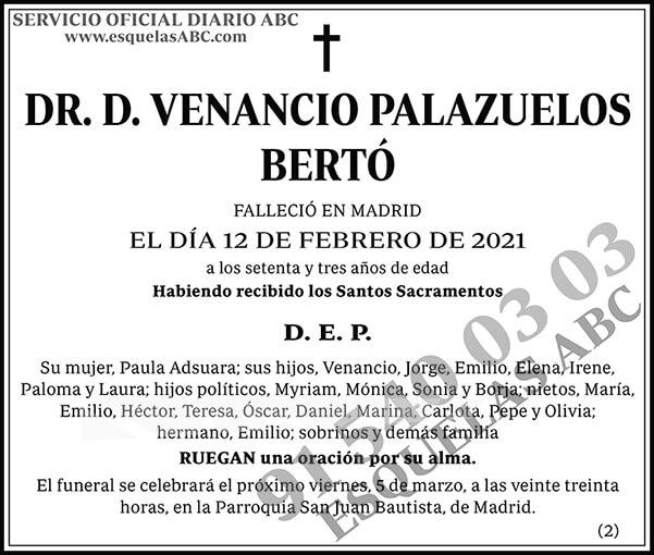 Venancio Palazuelos Bertó