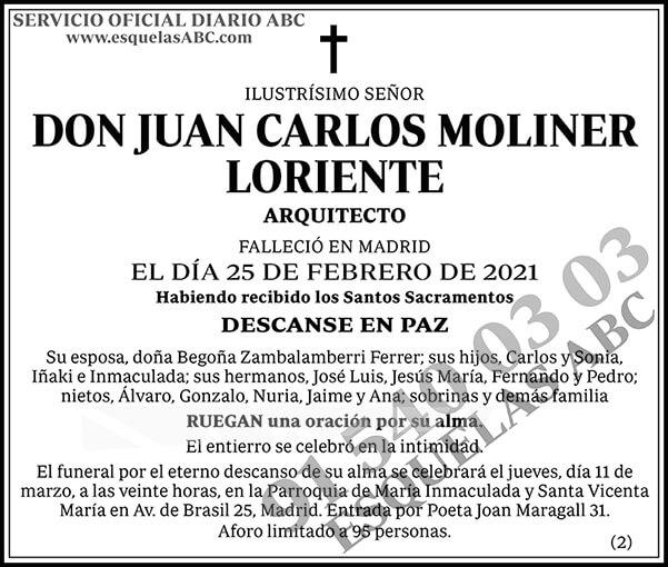 Juan Carlos Moliner Loriente