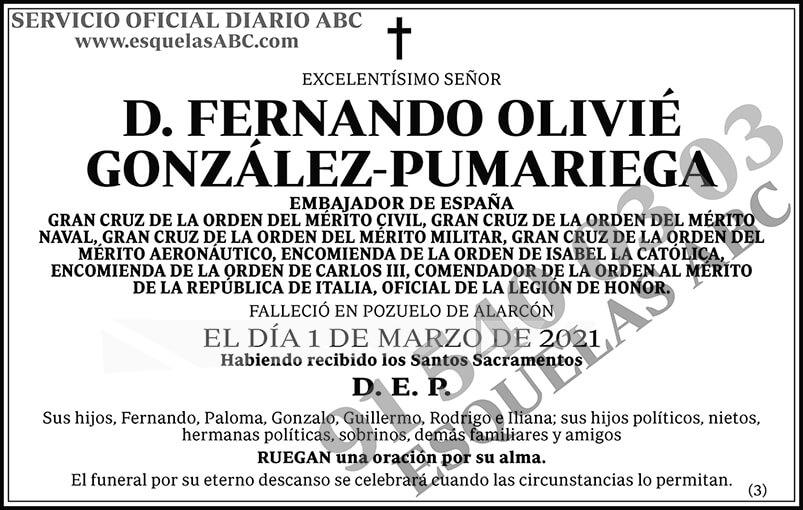 Fernando Olivié González-Pumariega