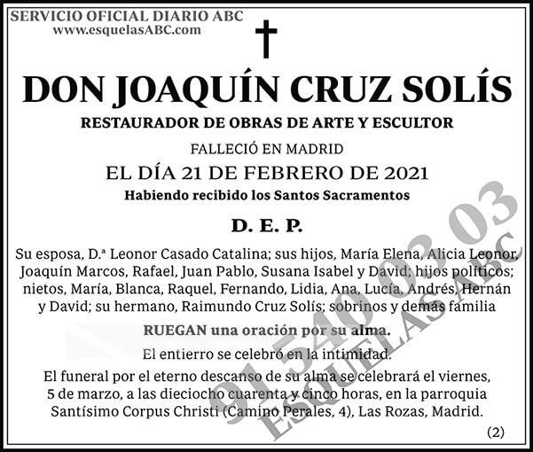Joaquín Cruz Solís