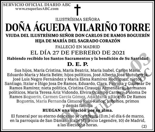 Águeda Vilariño Torre