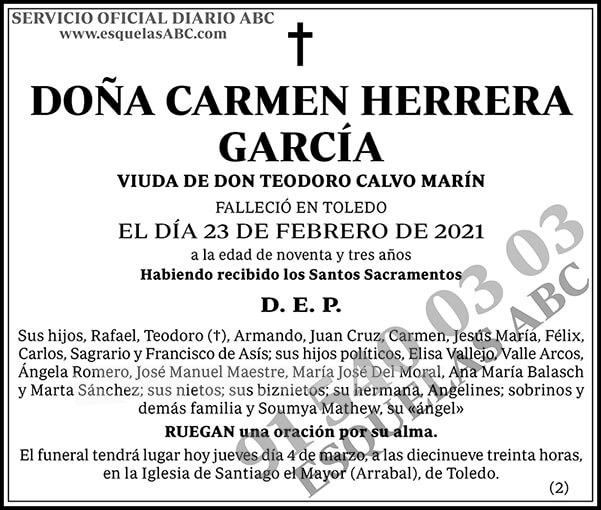 Carmen Herrera García