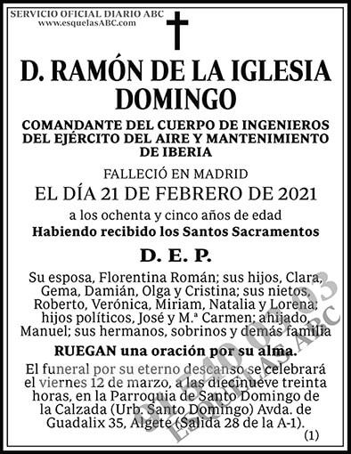 Ramón de la Iglesia Domingo